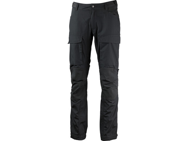 Lundhags Authentic II Pantalones Hombre, granite/charcoal